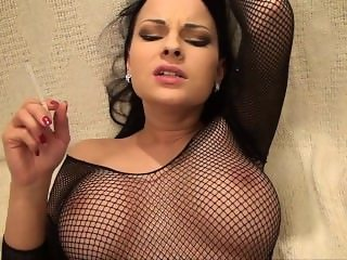 Smoking Fetish- sexy smoking sex- Abbie C
