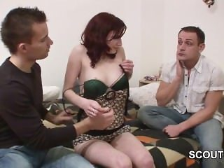 German Boy sell his girlfriend for Money and get Cuckold