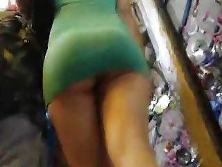 Very Short Miniskirt Ass Voyeur