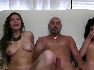 Hot Spanish threesome
