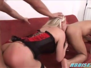 Blonde In the middle in BISEX MMF