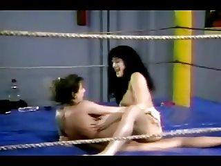 Old School Lesbian Wrestling