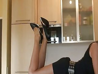 kinky german blonde housewife
