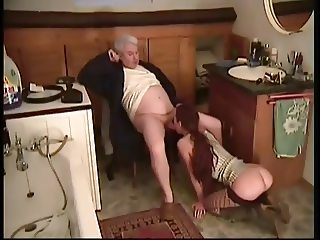 Teen girl show respect for Old Man - story 5