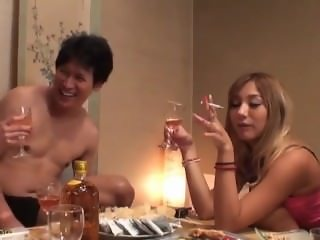 Japanese Smoking Fetish Drunk Girls 5