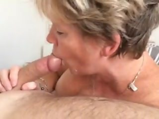 Lucy MILF from 666dates.com swallows cum