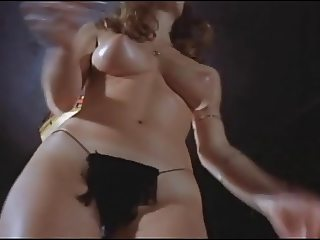 Busty topless dancer