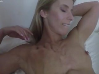 Fit Blonde Claire Gets POV Groped