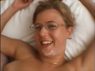 Big Tit Nerdy Brit Trinity Oral, Titjob, Facial