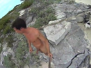 cuba cayo largo, nude beach, nudism, naked on the beach
