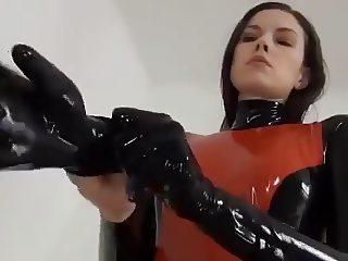 sexy latex rubber doll