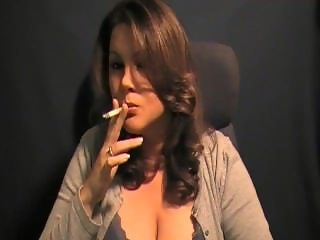 Kat V Big Tit Cork Smoking