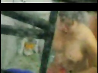 Vietnam secretly filming her big breasts neighbor