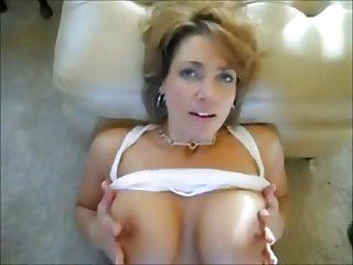 Hot MILF Breast Ejaculation