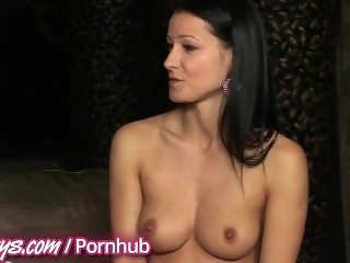 Twistys - Topless interview with Melisa Mendiny