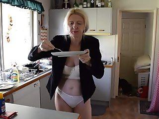 Blonde Milf is Hungary