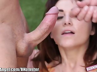 BurningAngel Alt Babe gets 2 Cocks