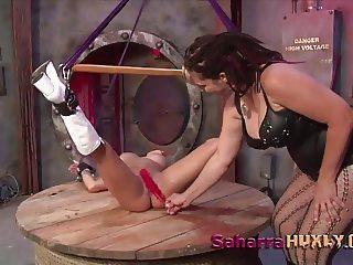 Huxly's Revenge on Wonder Woman-Saharra Huxly, Chichi Medina