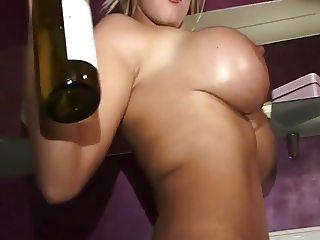Bad Girl gets champagne shower