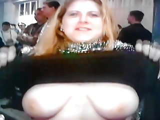huge white tits gets groped