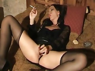 Cigarette and Cum vs Leather Voyeur
