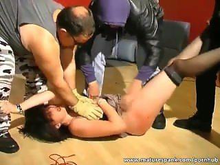 Ripe bitch enjoys rough sex game