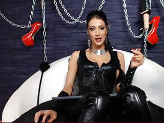 Mistress giving you orders