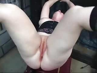 Redhead slave toyed and fingered