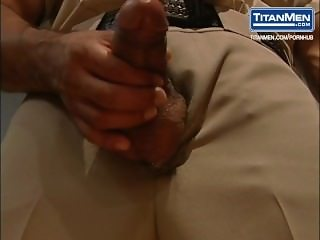 Jail Warden Dominates His Submissive Prisoner
