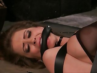 Her Orgasm Bondage Machine