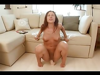 Cute Dildofuck (vaginal & anal)
