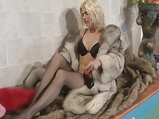 sexy in fox fur