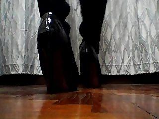 My sexy thigh bershka boots :)