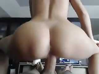 Sexy ass reverse cowgirl