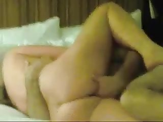 Wife Fucking with Friend while Cuckold Husband Watche
