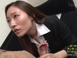 Hot Asian Secretary Takes Advantage 2