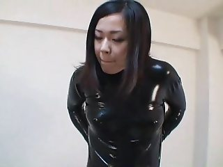 Japanese Latex Catsuit 09