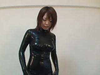 Japanese Latex Catsuit 14