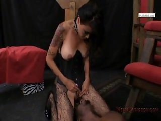 Dana Vespoli - tanned MILF Facesitting on Black Bull