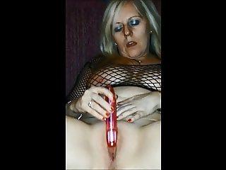 BBW MILF Vibrator Play