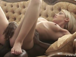Gorgeous Blonde Takes A BBC