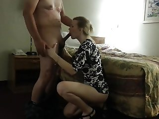 Nice couple sextape, beautiful blonde