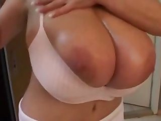 Huge boobs milena