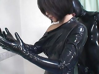 Japanese Latex Catsuit 32