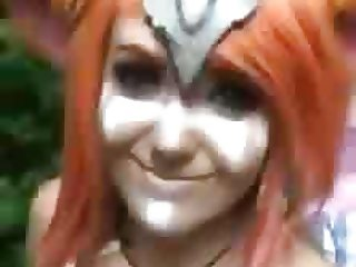 Jessica Nigri in the jungle
