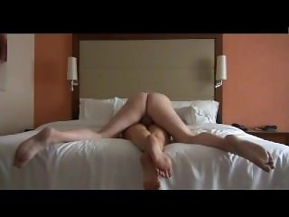 From Sexdatemilf.com curly haired sex freak fucks and swallows him dry