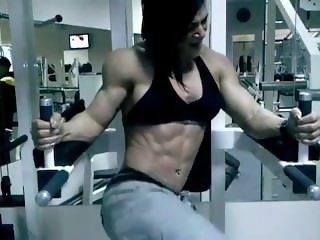 Suzy Kellner fbb female muscle workout