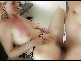 German Mature Creampie