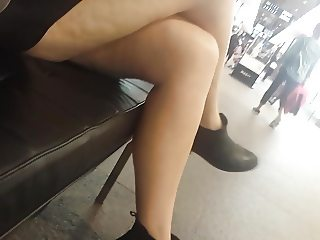 Bare Candid Legs - BCL#136