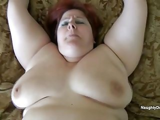 Sammie getting filled with BBC